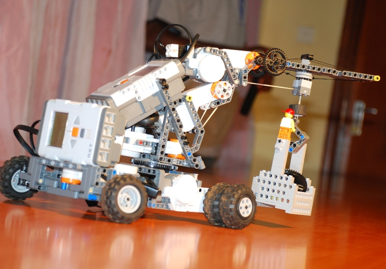 The Remote controlled crane