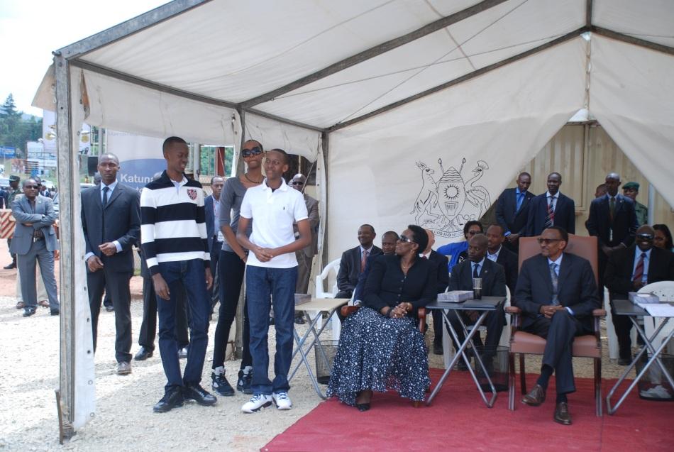 Kagame's family