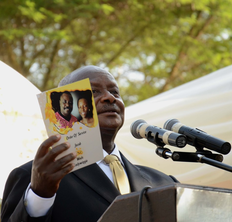 President Museveni graced the occassion