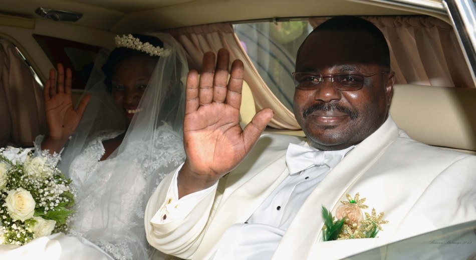 Mr and Mrs Jacob Oulanyah