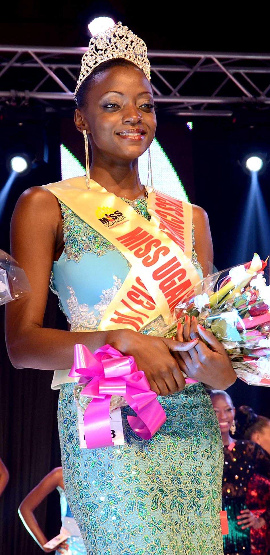 Stellah Nantumbwe Miss Uganda 2013/14